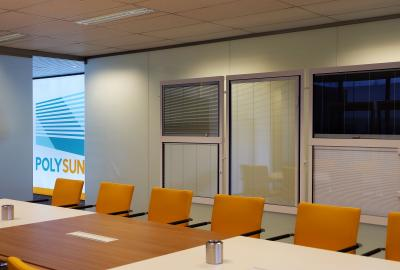 Polysun showroom Temse ScreenLine systems
